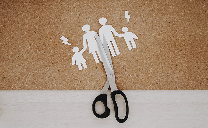 Daños colaterales de un divorcio